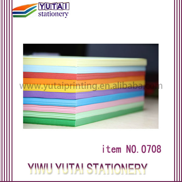 Factory Direct sales cardboard color paper