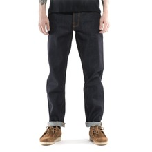 new model loose plain country style fancy jeans for men