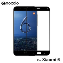 In Stock Japan Asahi Glass Full Cover Colorful Tempered Glass Screen Protector for Xiaomi 6