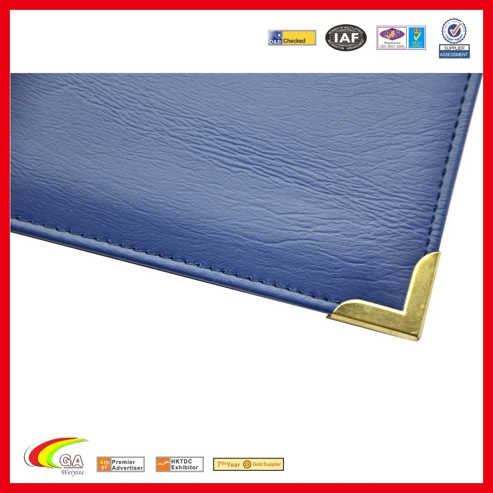 High Quality Cheap Price A4 File Leather Paper Certificate Holders