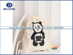 factory direct manufacture luxury high quality kids drawstring bag
