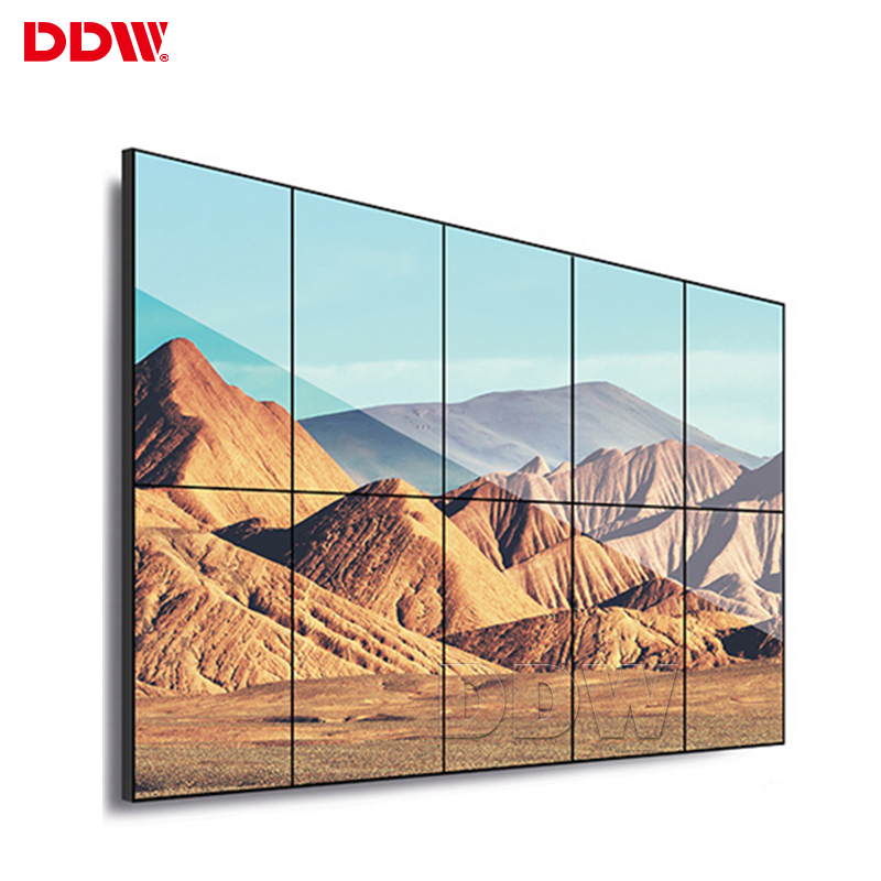 Chinese hot <strong>advertising</strong> 55 inch video wall system LG ultra narrow high brightness lcd video wall panel for financial center