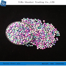 hot sale high quality loose round pearl beautiful natural pearl and dyed colors beads