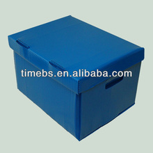 Files Storage Corrugated Plastic Box with Lid