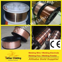 Manufacturing CO2 gas shielding welding wire ER70S-6/solider wire copper coated mig wire Er70s-6 CO2 (whatsapp: +86 18121775026)