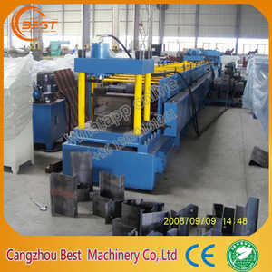Roll Forming Machine for C,L,Z,U Purlin Profile