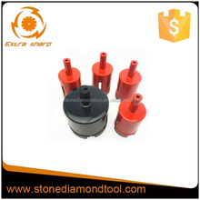 Diamond bit for drilling and cuttig reinforced concrete/diamond core drill bit