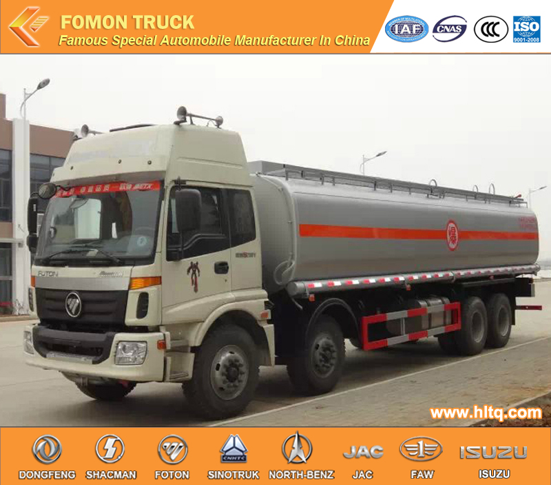 Foton Auman 8x4 25000-30000L 310HP Euro 4 China supplier aircraft refueler/aviation refueler truck
