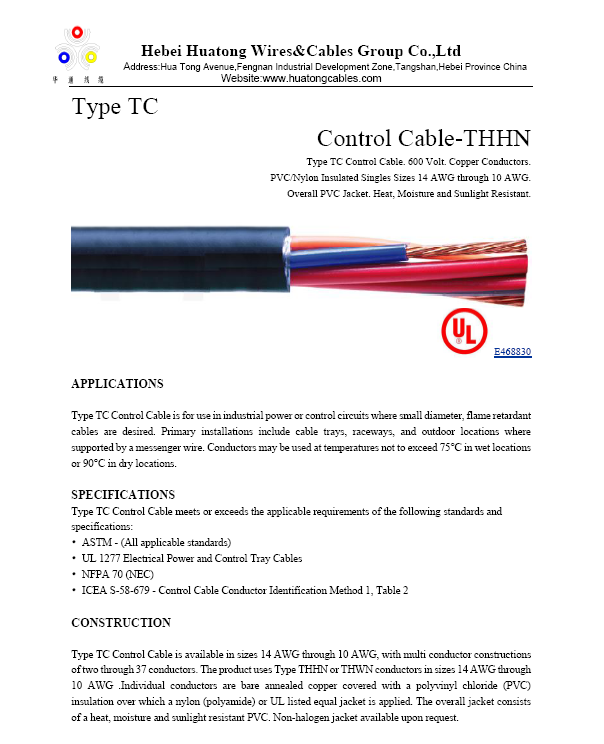 Outstanding Xhhw Wire Specifications Motif - Schematic Diagram ...