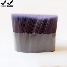 Paint Brush Material 100% PBT Tapered Hollow Solid Bristle Filament