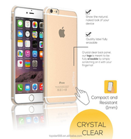 For iPhone 6/6s plus Case, Soft TPU Case Capsule Crystal Clear Premium Clear Flexible Soft TPU Case for iPhone 6/6s plus