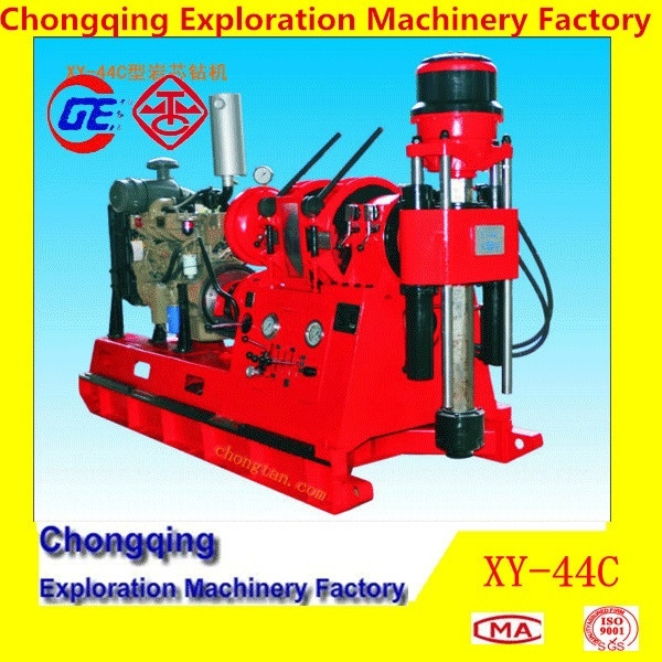 Powerful XY-44C Diamond Core Drilling Machine For Mine Exploration With 1200 m Depth of NQ