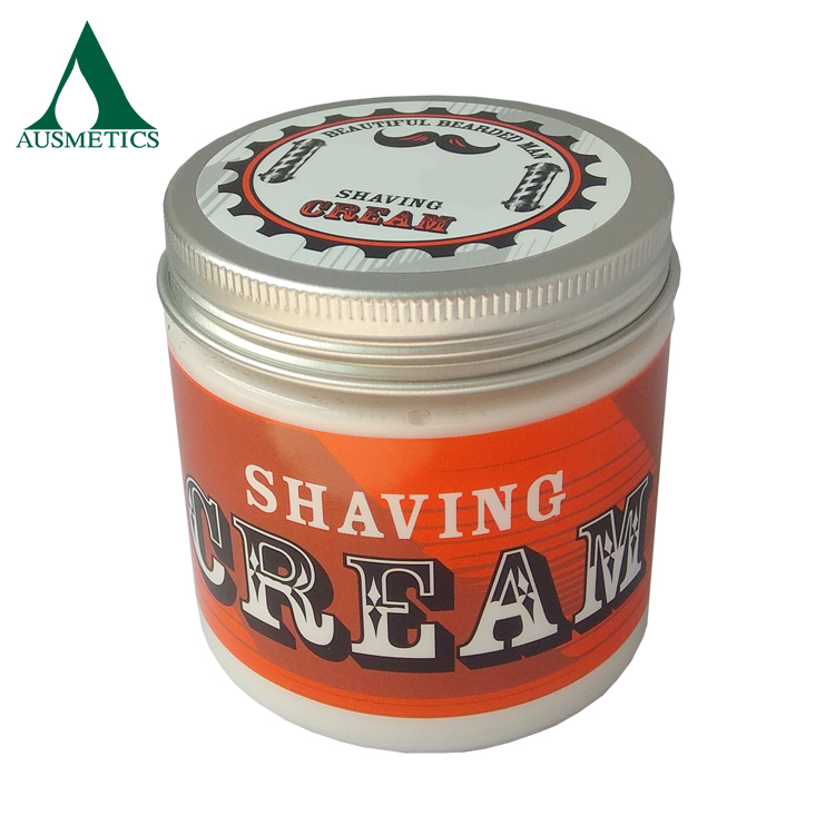 Hot sale private label wholesale natural smooth Sensitive Skin shaving cream for men