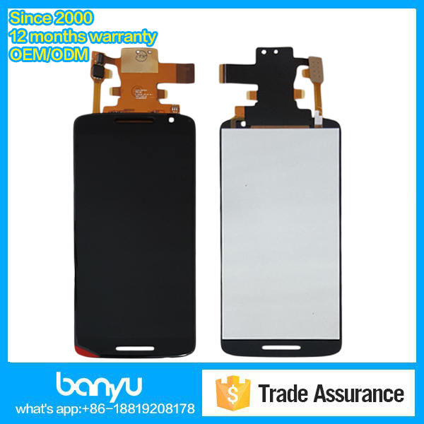 High quality mobile phone lcd screen for moto x play display