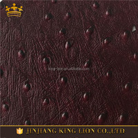 Brown Color Genuine Embossed Finished Bag