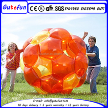outdoor football arena inflatable tpu kids body zorb body bumper ball for kids