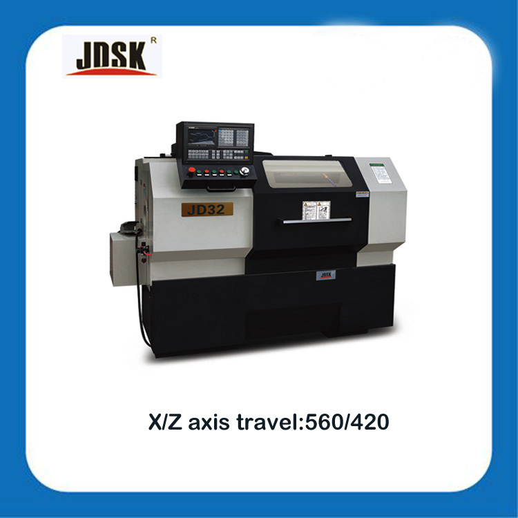 manufacturing/Fanuc CNC Manual/Hot sale CNC Lathe machine with High Rigid Spindle/JD series CNC Lathe JD32