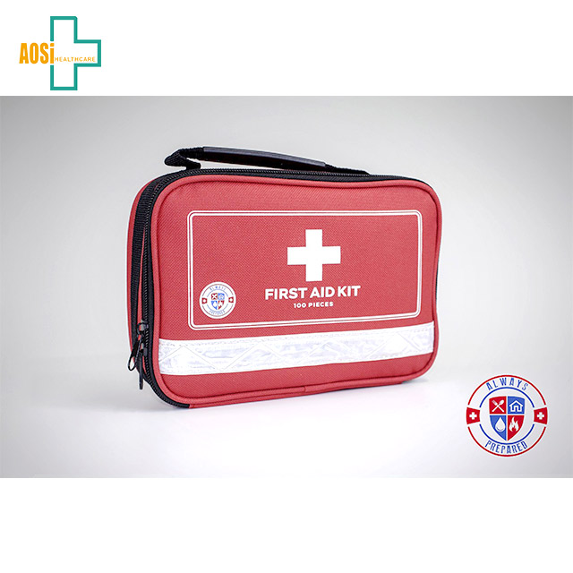 Survival tool kit comprehensive first aid kit bag car first aid kit