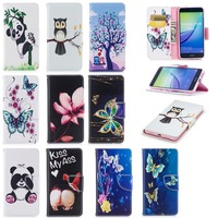 Hot Selling Wallet Style PU Leather Case for Huawei P10 Lite Case Cover with Holder