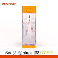 Everich outdoor portable plastic water bottle with phone holder design