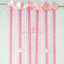 princess crown door / window curtain
