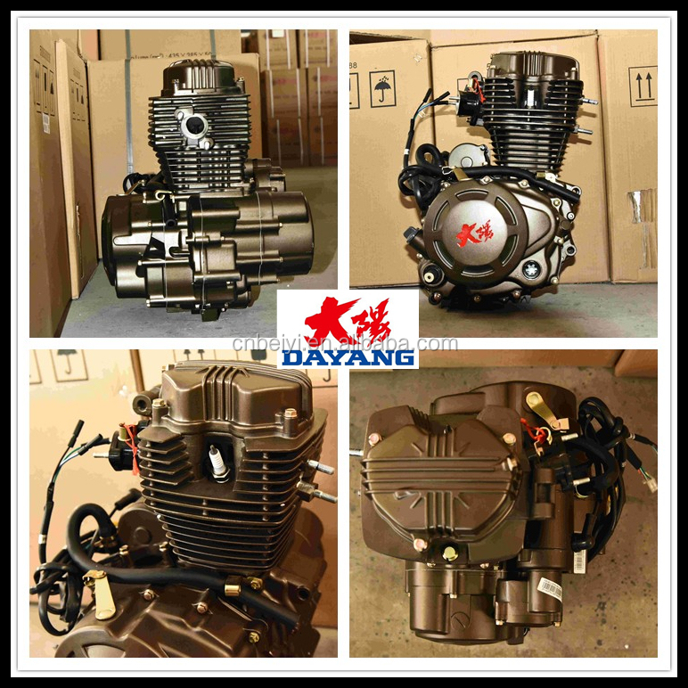 New Single Cylinder Four Stroke Zongshen 150cc Air Cooling Engine Spare Parts