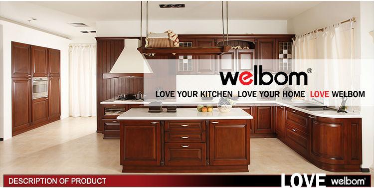 Wood grain laminate kitchen cabinets buy wood kitchen for White wood grain kitchen cabinets