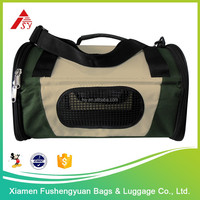 Wholesale low price 600D polyester dog bag carrier / pet cage