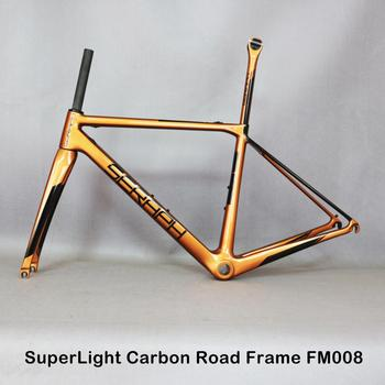 SERAPH Brand Top-rated Chinese Carbon Road Cycling Frameset with New EPS Adopting Whole Shaped Technology Frame