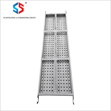 SD-118 Tianjin SS Group Tianjin Factory BS1139 High Quality Scaffolding Steel Plank Galvanized Catwalk