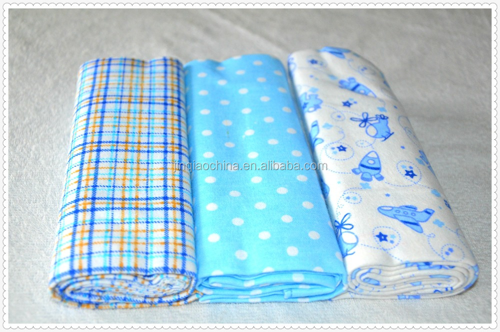 alibaba china suppliers cotton baby printed flannel receiving swaddle blanket