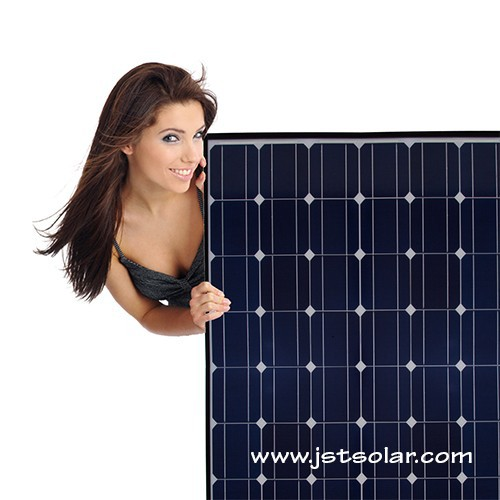 Monocrystalline sun power solar panel 210W with best quality in China