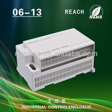 ABS plastic din rail industrial control enclosure for electronic device