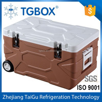 55L Large Cooler with Wheel Insulated Ice Chest for Sale Cooler Box for Beverage