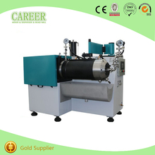 silicon carbide turbo lab bead mill with cooling system