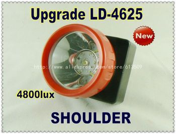 Upgrade hengda led light ld-4625 rechargeable LED helmet light, hunting headlight moving head led lamp