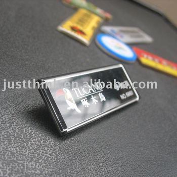 Welcome to Customized All Kinds of Acrylic Name Plate FZ-BDG-009
