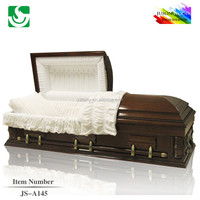 High quality colors of wooden coffins and caskets