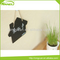 Lovely creative message board hang rope house shape writing blackboard