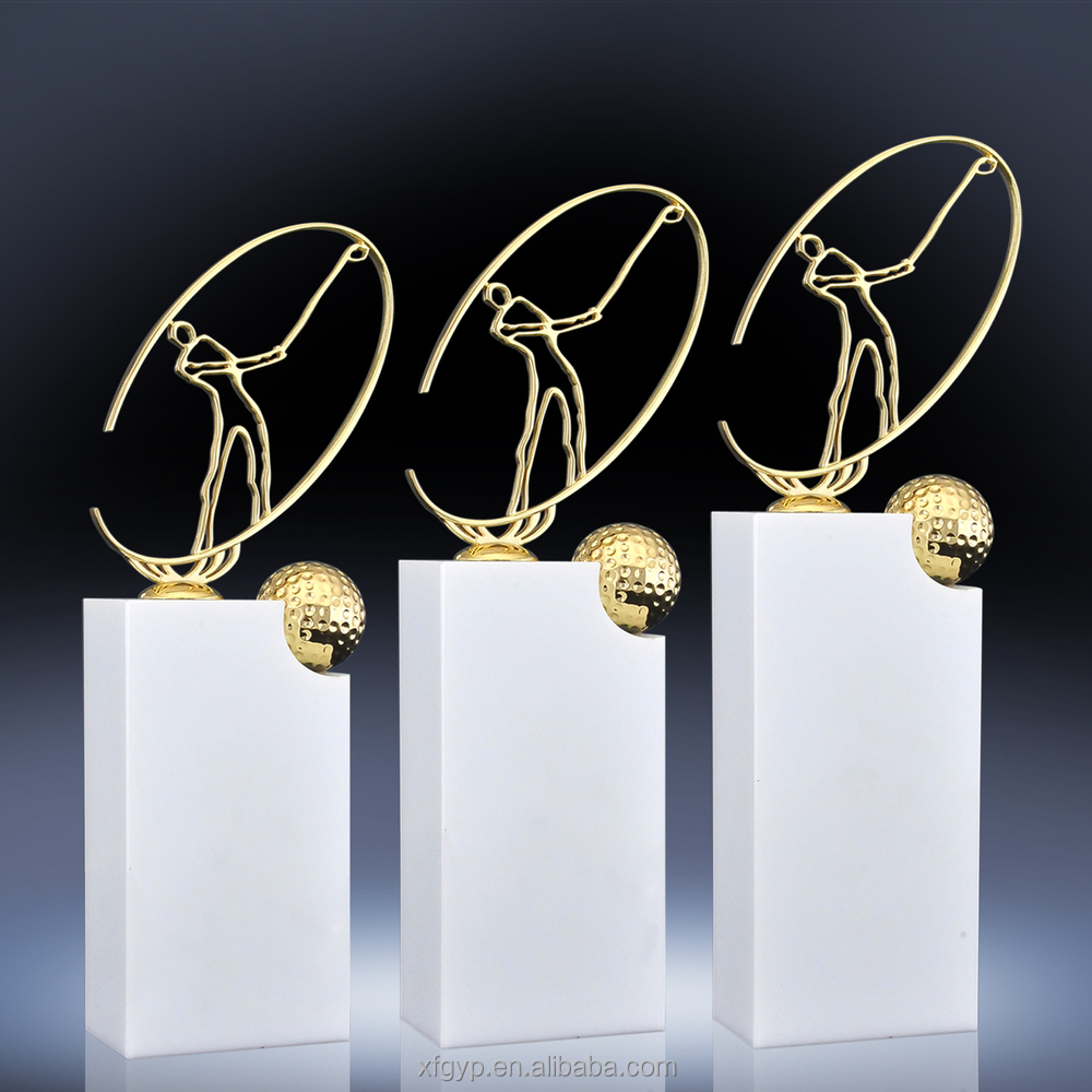 Made in China new fashion custom resin trophies