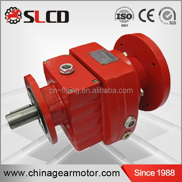 RCL-F flange mounted helical gear reducers