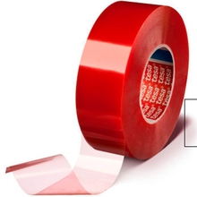 Tesa 4965 transparent heat resistant film adhesive paper pet double sided tape rolls