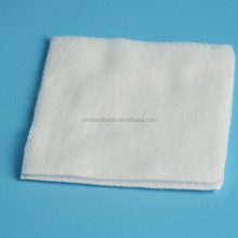 Medical sterile wound dressing non woven swab