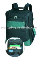 Promotion bags polyester laptop backpack 1680d