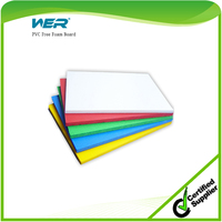 promotional price high density white pvc free foam board