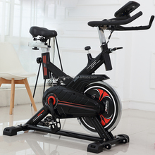Aerobic Spin Bike Indoor Cycle With Balanced Heavy Spinning Flywheel Exercise Spin Bike YB-6800 Cardio Workout Cycling Machine