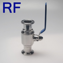 RF Manual Stainless Steel Directional Ball Valve