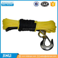 Synthetic rope/Synthetic Winch Rope/ 100%Chineema/Customized