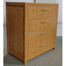 New design solid bamboo filing cabinet