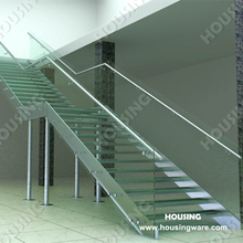 Fantastic design L shape staircase in Candian Style HS-L08